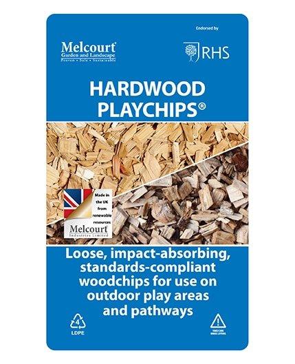 Playchips Hardwood 60L