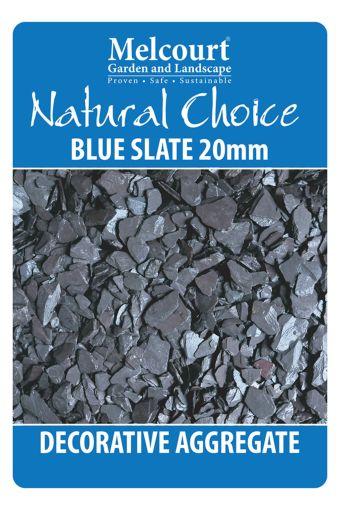 Natural Choice Blue Slate 20mm 20kg 5060157810933