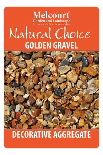 Natural Choice Golden Gravel 20kg 5060157810971