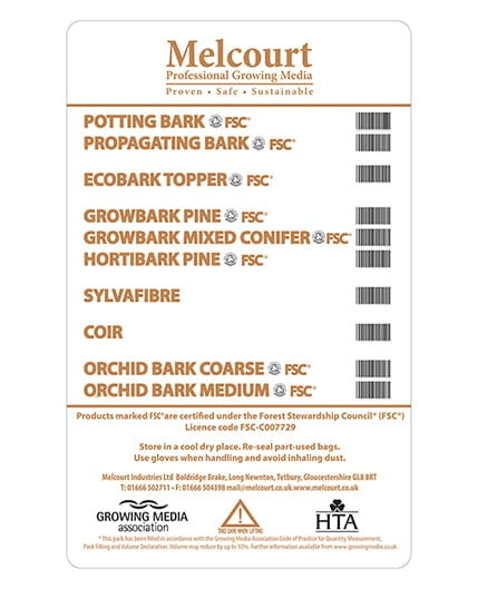 ProGrowers Orchid Bark Medium 60L