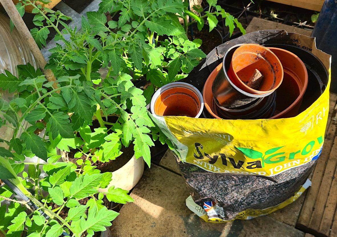 SylvaGrow bag recycling tips